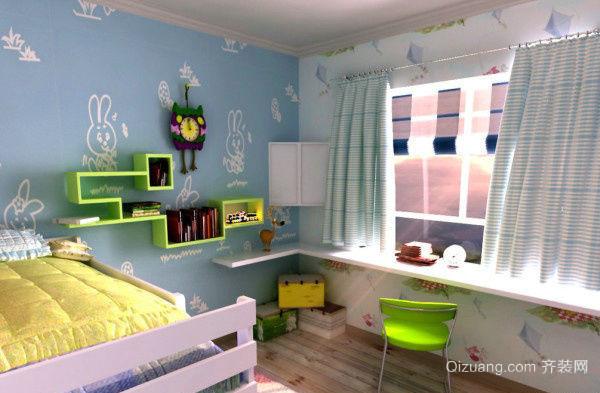 20平米地中海风格儿童房装修效果图