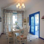 地中海风格飘逸窗帘装饰