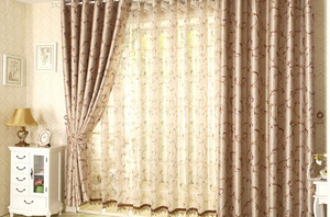 2015家装客厅窗帘效果图大全