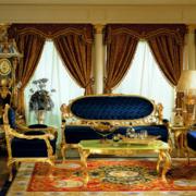 客厅欧式宫廷式