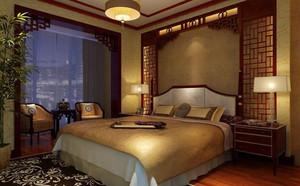 东南亚风格卧室背景墙装饰