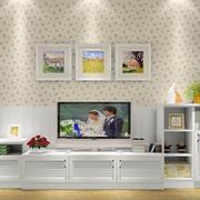 复式楼简约风格客厅电视柜设计