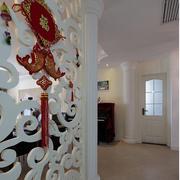 后现代风格客厅隔断装饰