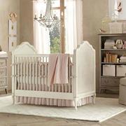 美式奢华白色系儿童房装饰