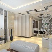 现代简约风格客厅吊顶装饰