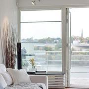北欧风格清新推拉门装饰