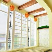简约内嵌式阳台吊顶装饰