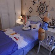 地中海儿童房床头背景墙装饰