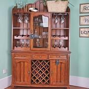 法式浪漫的小型酒柜