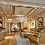 欧式豪华造型装潢设计
