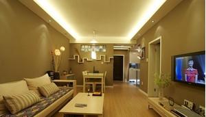 温馨时尚两室两厅装修效果图