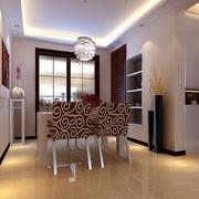中式简约风格马赛克玻璃门装饰
