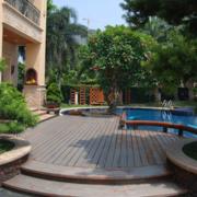 别墅游泳池瓷砖款