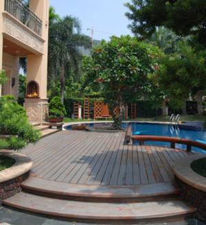 豪华别墅游泳池装修设计效果图片
