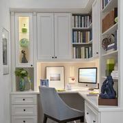 现代简约型小书房