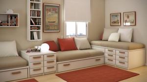居家卧室及客厅储物柜图片大全