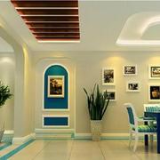 地中海客厅玄关设计