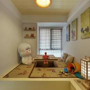 日式简约风格地台装饰
