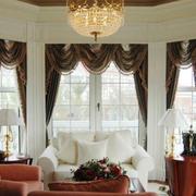 别墅大型整体式飘窗装饰