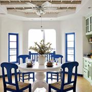 地中海风格餐厅橱柜装饰