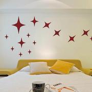 简约风格卧室床头墙贴装饰