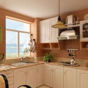 小户型简约风格厨房置物架装饰