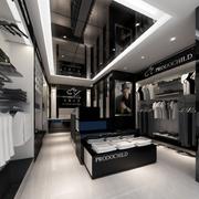黑白色经典服装店装饰