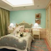 韩式简约风格卧室床头背景墙装饰