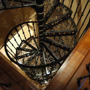 精致的旋转楼梯图