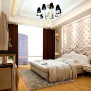 卧室背景墙欧式华丽款