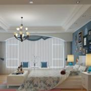 欧式简约风格卧室照片墙墙饰装饰