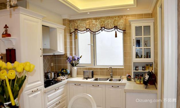 20平米韩式开放式厨房装修效果图