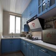 地中海L型厨房装修