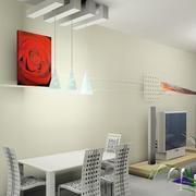 客厅形象墙现代款