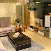后现代风格客厅电视柜设计