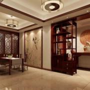 中式简约博古架装饰