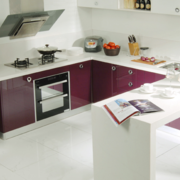 厨房橱柜欧式淡米色款