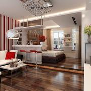 三居室婚房大气优雅型