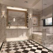 法式现代款卫生间精装修