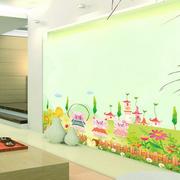 儿童清新风格客厅墙贴装饰
