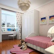 欧式简约风格儿童房整体衣柜装饰