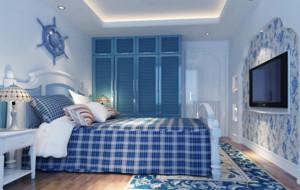 地中海风格卧室欣赏