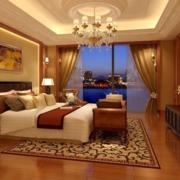 暖色调卧室整体装修
