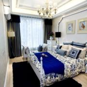 欧式白色系卧室墙饰装饰