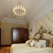 欧式奢华风格卧室吊顶装饰