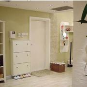 两室一厅简约风格鞋柜装饰