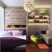 现代化简约风格榻榻米床装饰