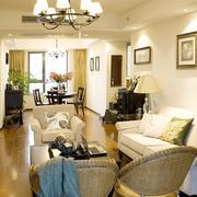 欧式奢华风格客厅沙发背景墙装饰