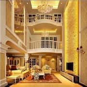 欧式风格客厅电视背景墙设计