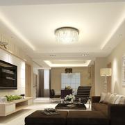 两室一厅简约风格吊顶装饰